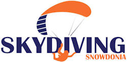Sky Diving Snowdonia Wales Logo